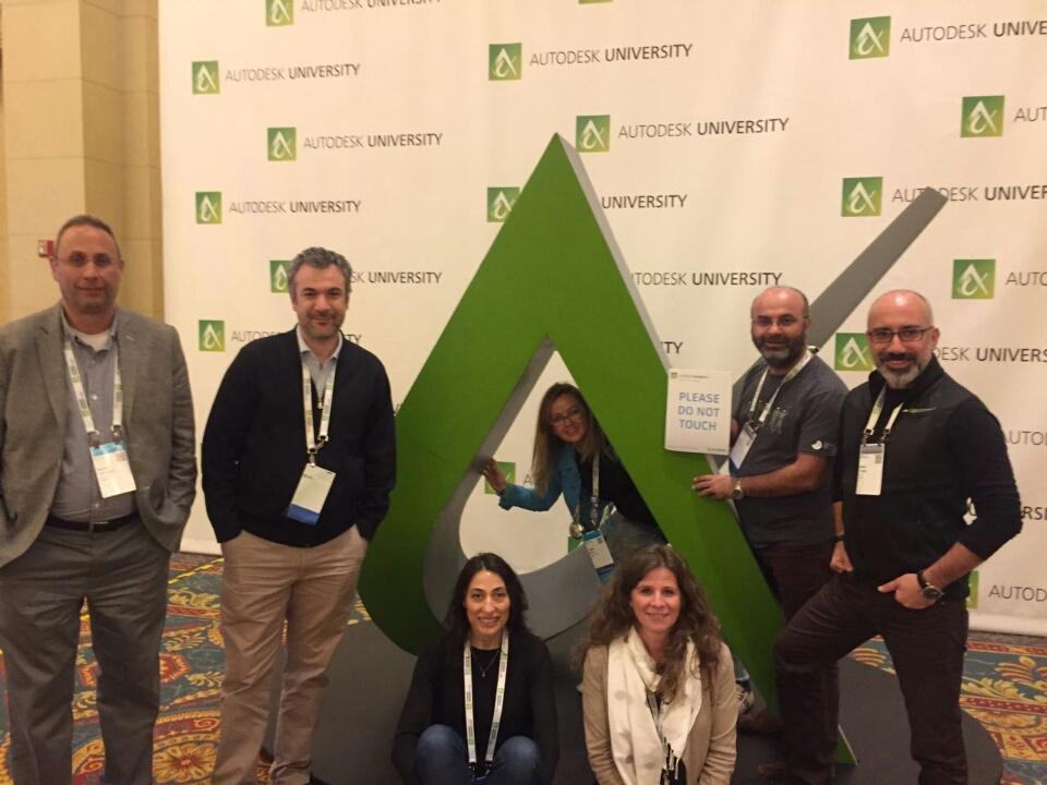 Las Vegas'da Autodesk University Etkinliğine Katıldık
