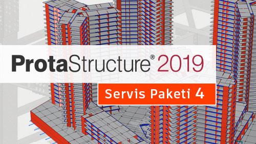 ProtaStructure 2019 Yeni Servis Paketini Keşfedin