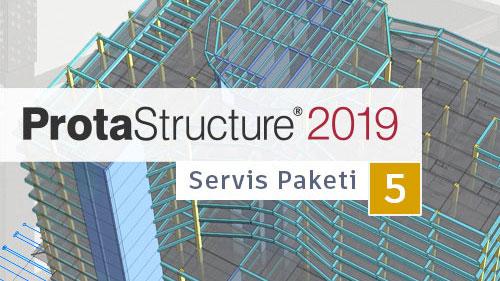 ProtaStructure SP5 Yayınlandı