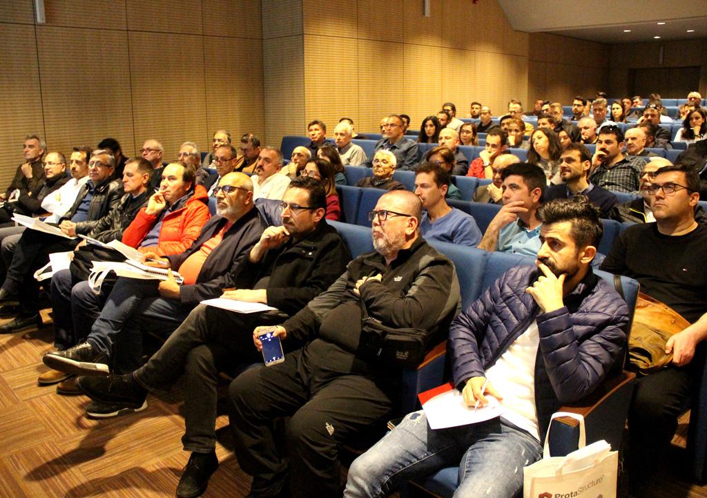 TBDY 2018 Semineri'ni IMO İstanbul Şube'nin Ev Sahipliğinde Gerçekleştirdik