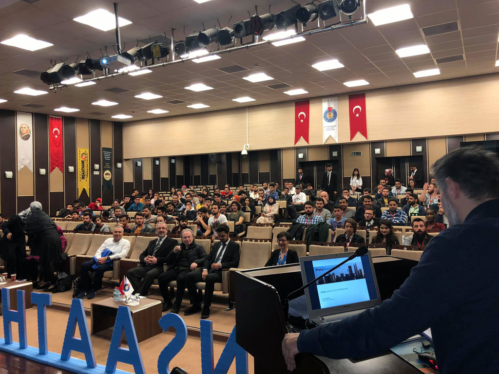 Kahramanmaraş Sütçü İmam Üniversitesi İnşaat Mühendisleri Öğrencileriyle Buluştuk