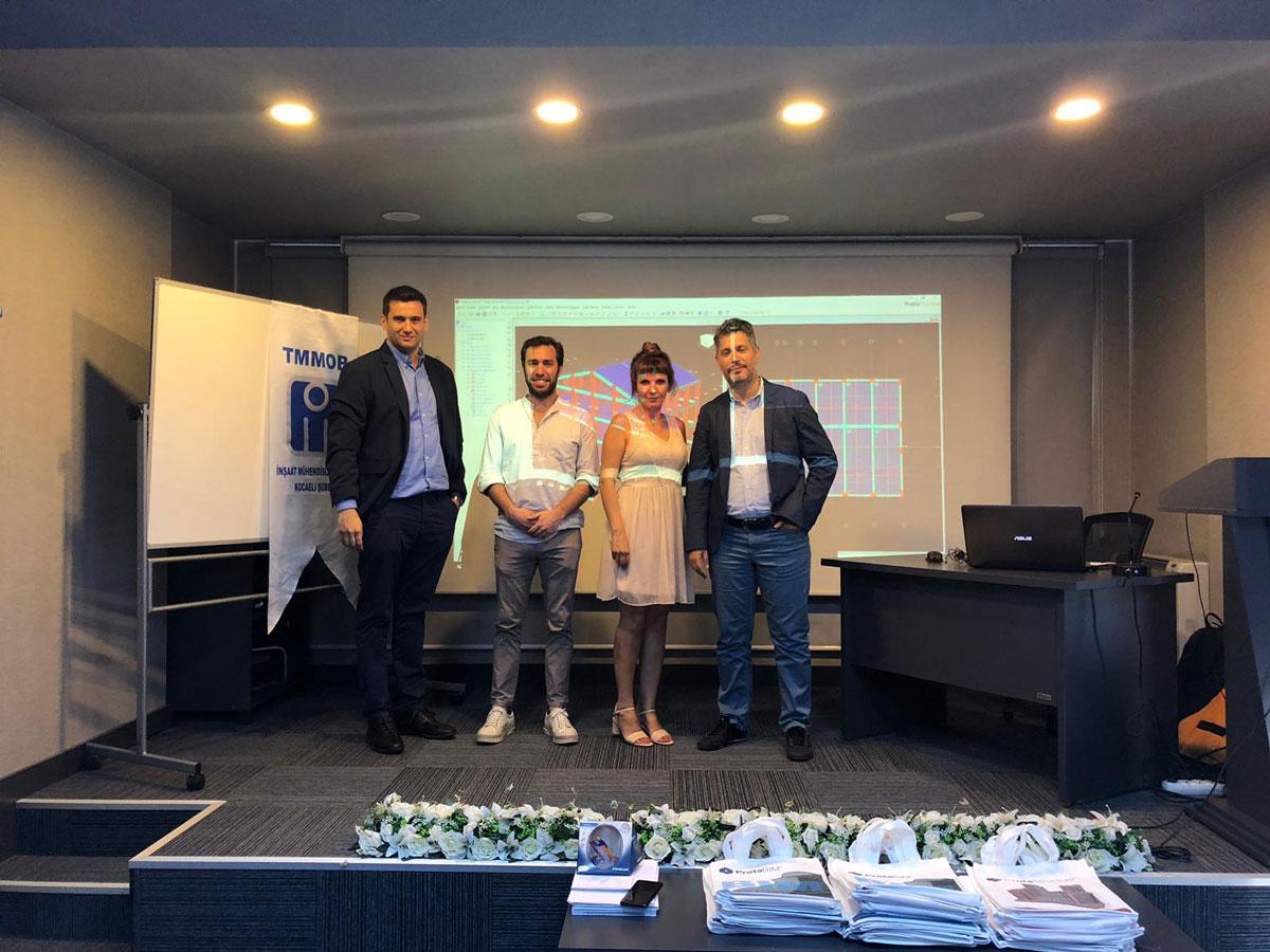 Kocaeli Ve Sakarya'da ProtaStructure 2019 İle TBDY 2018'e Uygun Yapı Tasarımı Seminerlerini Gerçekleştirdik.