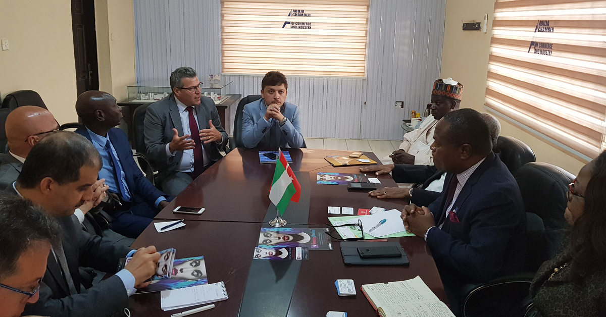 Prota Attended One-To-One Meetings with DEIK In Abuja