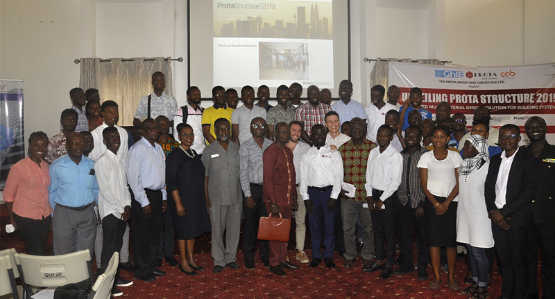 Structural BIM implementation in Ghana: ProtaStructure Launch Event